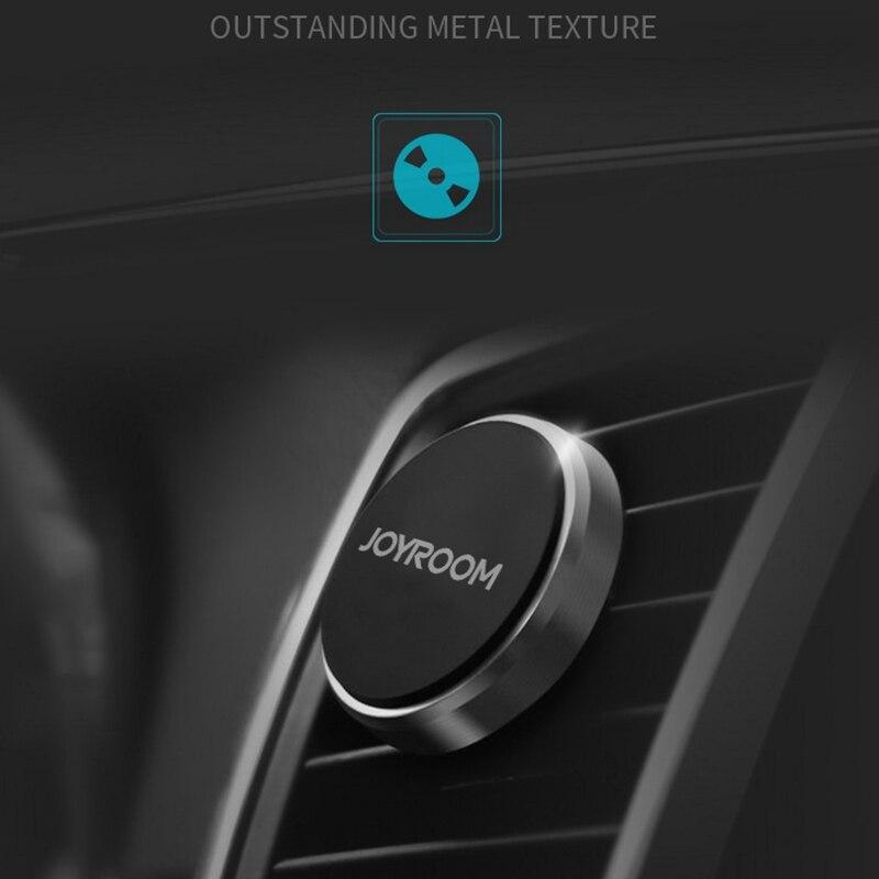 Joyroom Универсальный Магнитный Air <font><b>Vent</b></font> Автомобильный держатель Стенд мобильного телефона держатель кронштейн с Металл палец кольцо