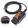 OBD2 ELM327 USB ELM 327 V1.5 OBDII Интерфейс Авто Читатели Код и Сканер Диагностический Инструмент Универсальный Автомобиль Автомобиль CAN-BUS Сканер