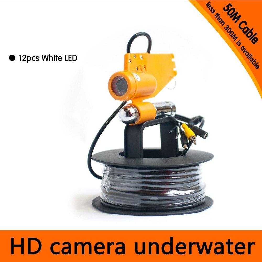 Güvenlik ve Koruma'ten Gözetim Kameraları'de Ücretsiz Kargo 50 Metre Derinlik Sualtı Kamera ile Tek Kurşun Yol Balık Bulucu ve Dalış Kamera Uygulaması