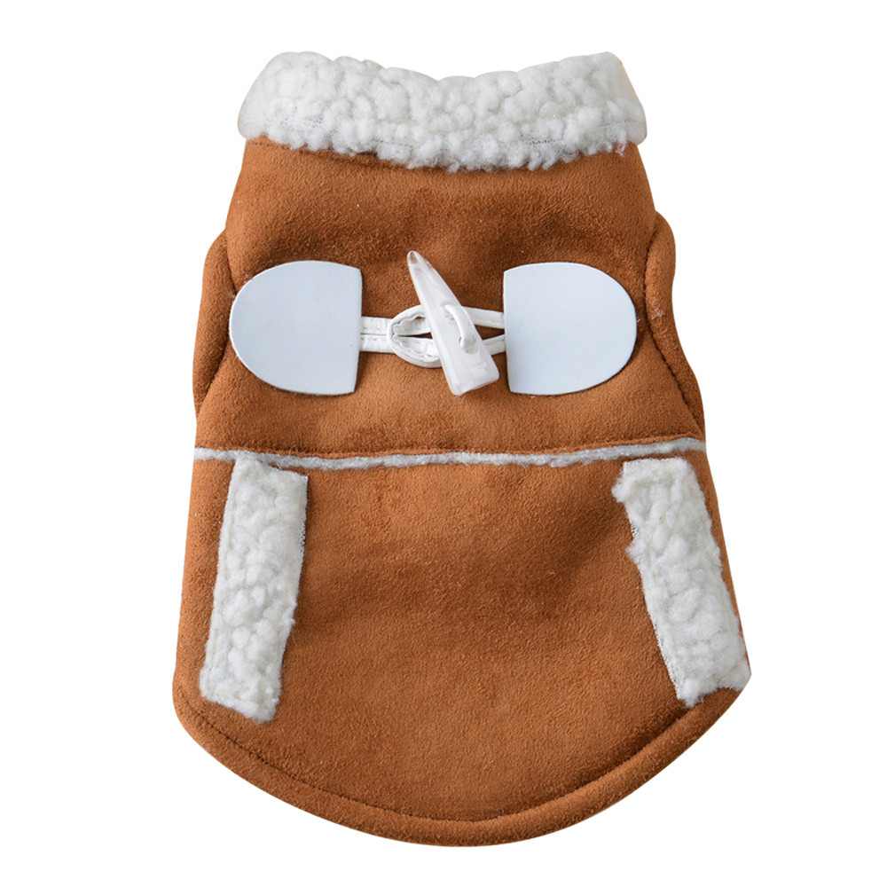 Pet Dog Cat Winter Clothes Coat Apparel Puppy Warm Motorcycle Vest CostumeClothing For Small Dog Chihuahua Abrigo