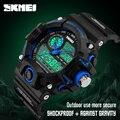 2016 hombres reloj de cuarzo led digital relojes deportivos militar skmei marca moda casual impermeable relojes de pulsera relogio masculino