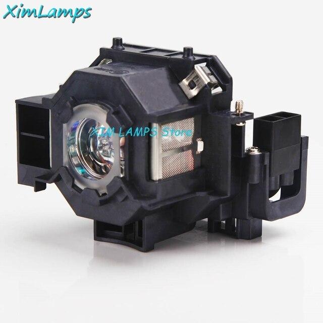 V13H010L41 Lampada Del Proiettore con Alloggiamento Per Epson PowerLite S5/S6/77C/78, EMP S5, EMP X5, h283A, HC700
