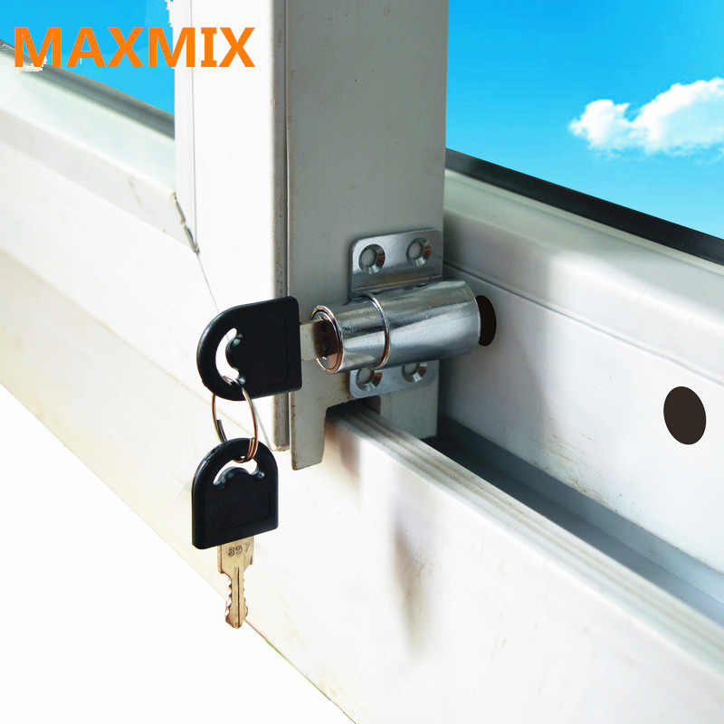 Maxmix 4pcs Lot Window Shield Sliding Window Locks