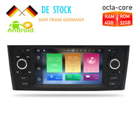 Android 7,1/8,0 автомобилей Радио gps навигации Мультимедиа Стерео для Fiat Grande Punto Linea 2006 2012 Авто Аудио WI FI Bluetooth ips