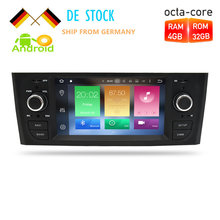 Android 7.1/8.0 Car Radio GPS Navigation Multimedia Stereo For Fiat Grande Punto Linea 2006-2012 Auto Audio WIFI Bluetooth IPS