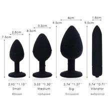 Silicone Dildo Crystal Jewelry Butt Plug Massager Unisex Anal Plug Sex Shop Vibrator Anal Plug Gay Sex Toy (10 Speeds Vibrator)