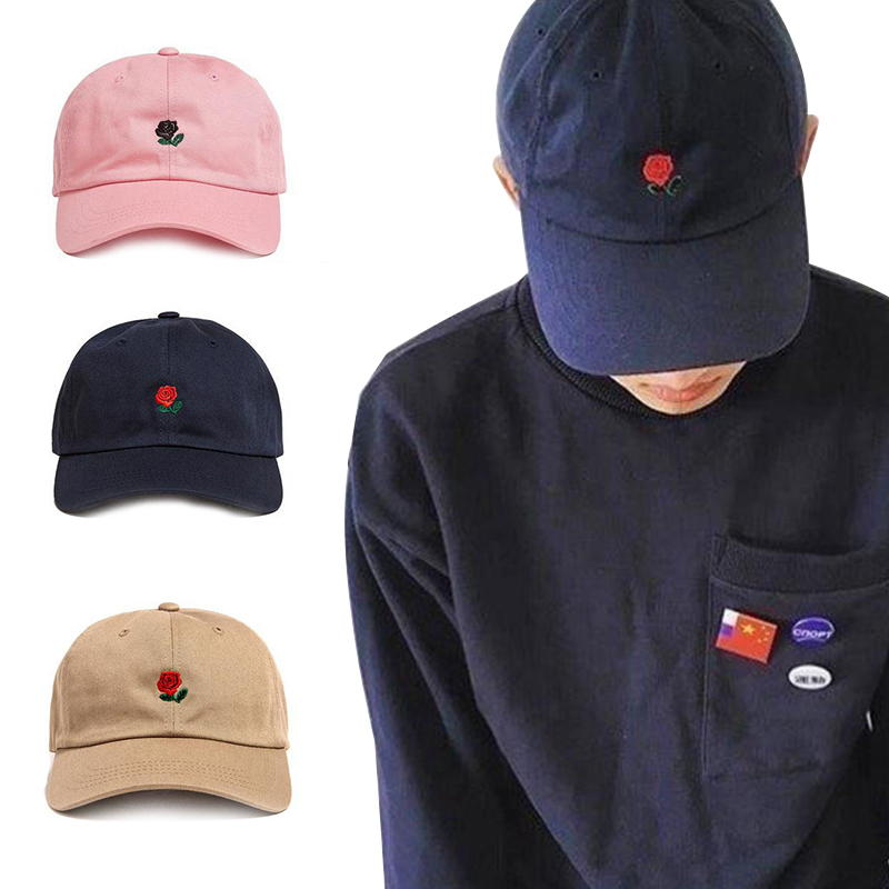86330426e US $3.39 30% OFF|2019 New Classic Baseball Cap Rose Snapback Hat For Women  Caps Summer Sun Hat Snapback Caps Sport Cap Casual Man Baseball Hat-in ...