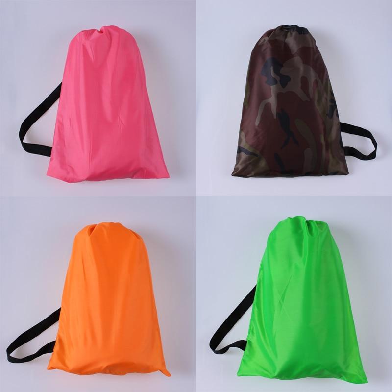 Lamzac Hangout Camping High-quality Inflatable Lounger Hammock Lay Bag Air Bed Sofa Lazy Bag Laybag Sleeping Bag 240cm*70cm