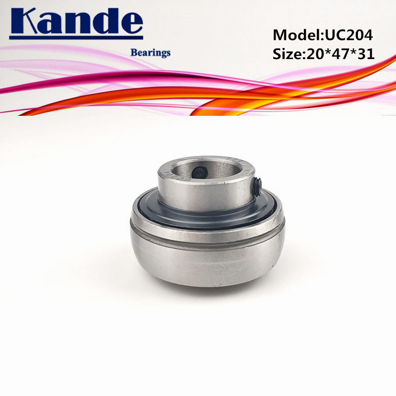 1pc UC 204  20*47*31mm 1pc UC204-12 ID:  3/4 in   pillow block bearing UC204 UC 204-12 Kande1pc UC 204  20*47*31mm 1pc UC204-12 ID:  3/4 in   pillow block bearing UC204 UC 204-12 Kande