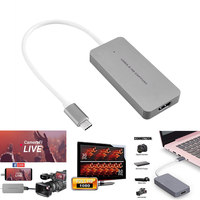 USB 3.0 HD Video Capture Card 1080P HDMI to Laptop For XboxOne PS4 PS3 Wii U QJY99