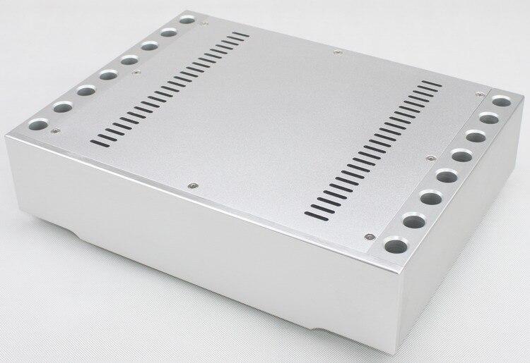 WF1172 boîtier de luxe en aluminium amplificateur de châssis boîtier DAC/boîte de dissipateur de chaleur de haute qualité/pieds de Machine en aluminium