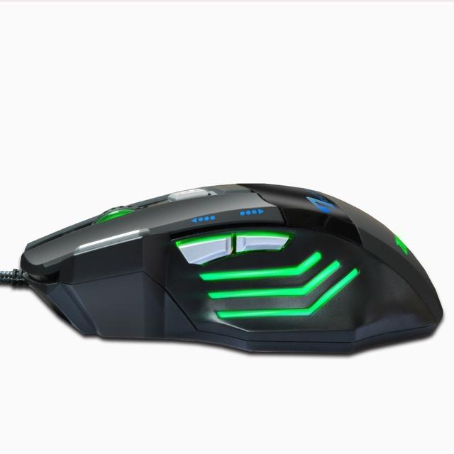 Ratón de Juego con 7 Botones con Cable USB