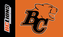 BC Lions Flag 3×5 FT  Banner 100D Polyester CFL flag 1501, free shipping
