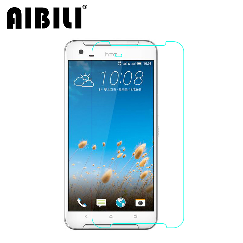 AIBILI For Htc One X9 Tempered glass Screen Protector 2.5 9h Safety Protective Film on X 9 X9u E56ML Dual Sim
