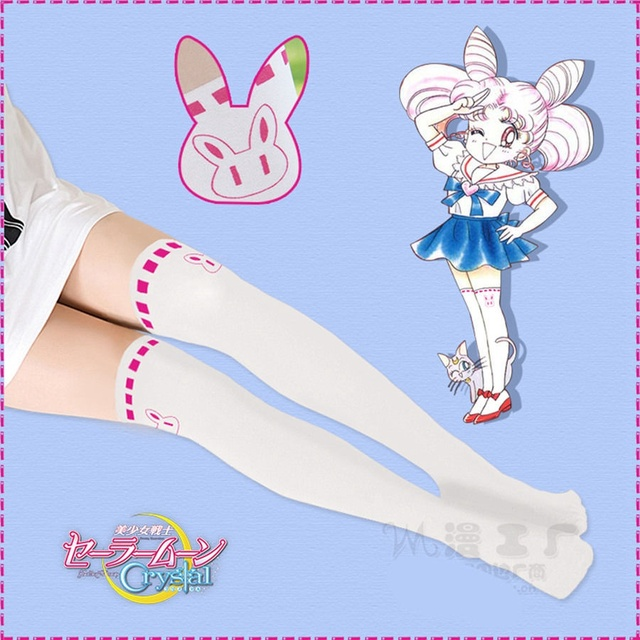 1pc anime sailor moon tights chibi usa rabbit pantyhose small lady
