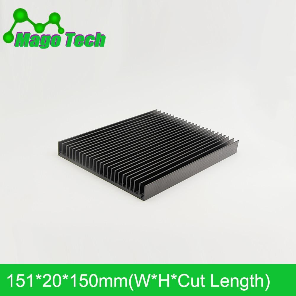 LED Aluminum Heatsink Plate 80W 100W  Radiator Cooling Cooler Fit Transistor IC Thermal Conductivity LED Radiator Electronics