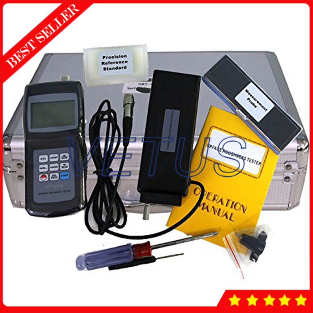 SRT-6200S Digital LCD Surface Roughness Tester with Ra Rq Rz Rt 4 Parameters Measuring Instrument Surftest profilometer gauge