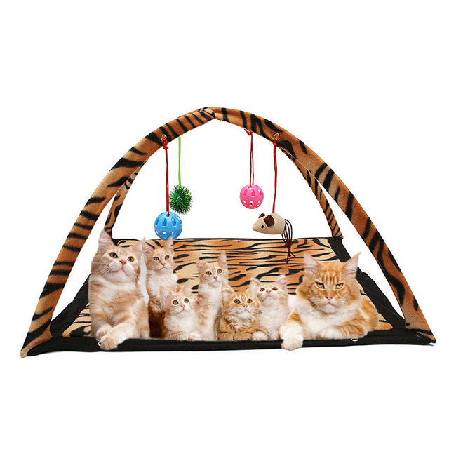 Cotton Cube Cat Toys Activity Tent Exercise Stay Active Play Folding Bed With  sc 1 st  AliExpress.com & Hot!! Cotton Cube Cat Toys Activity Tent Exercise Stay Active Play ...