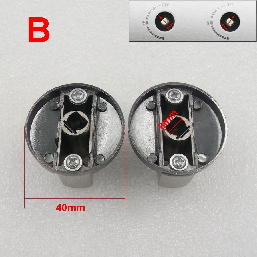 Cink ötvözet fém beágyazott gáztűzhely tűzhely kapcsoló gomb - Konyha, étkező és bár - Fénykép 4
