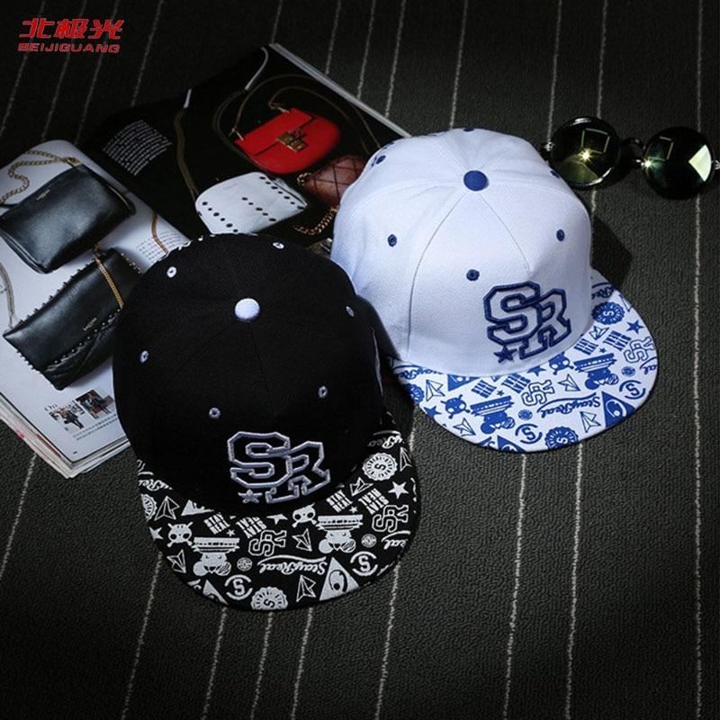 Baseball Caps Hip Hop Zomer Lente Snapback Zon Cap Vintage Gedrukt - Kledingaccessoires - Foto 1