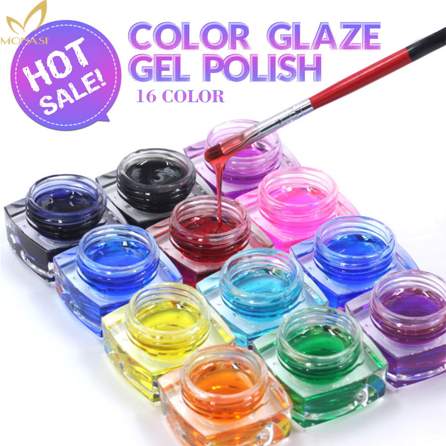 China Manufacturers MONasi Fashion 5ML Colors Glaze Gel