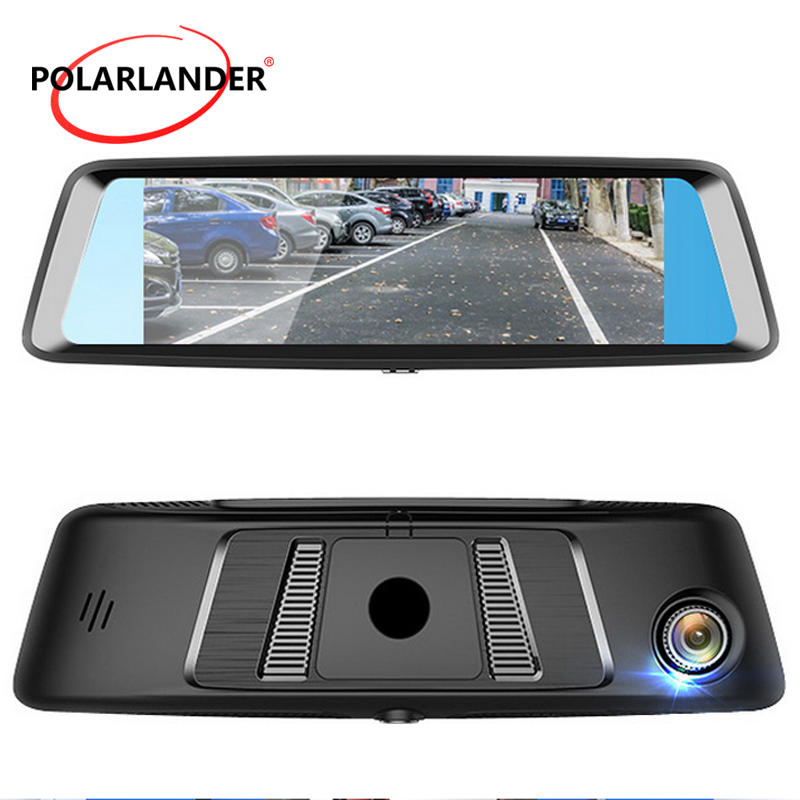A8 7 DVR WiFi Rearview Mirror G SENSOR Touch Screen Bluetooth MP5/MP4/RMVB/Flash Camera Video Drive Recorder GPS 4G Android
