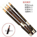 Size free Shipping 10pcs 2015 Real Top Fashion Long-lasting Full Laser Cosmetic Art Professional Backguy Eyebrow Pencil Coffee