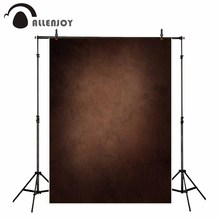 Allenjoy professional photography background vintage style dark brown gradient backdrop old master photo studio photocall