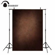 Allenjoy מקצועי צילום רקע בציר סגנון כהה חום שיפוע רקע ישן מאסטר תמונה סטודיו שיחת וידאו