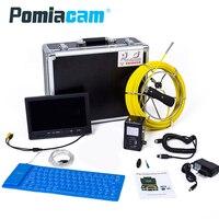 WP91 20 М камера для канализации инспекции полезный инструмент в сантехника промышленности эндоскопическая Инспекционная камера Professional Pipeline