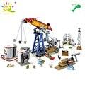 HUIQIBAO TOYS 316pcs Military drilling Lab Army Radar Building Blocks For Children Compatible Legoed City Enlighten Bricks Gifts