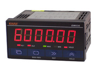 GW636 Pulse Meter Counter Tachometer Wire Speed Meter Frequency Meter RS485 Communication MODBUS Protocol