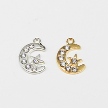 Connector-Accessories Necklace Crescent Makin Diy Bracelet Islamic Jewelry Moon Religious