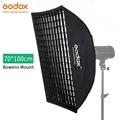 Godox FW70 * 100 70x100cm Honingraat softbox softbox met Bowens Mount voor Studio Strobe Flash licht