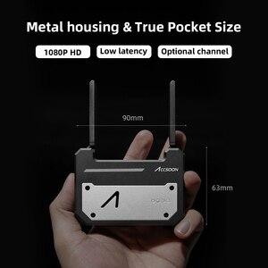 Image 5 - Accsoon CineEye Wireless 5G 1080P Mini HDMI Übertragung Gerät Video Sender Für IOS iPhone für iPad Andriod Telefon