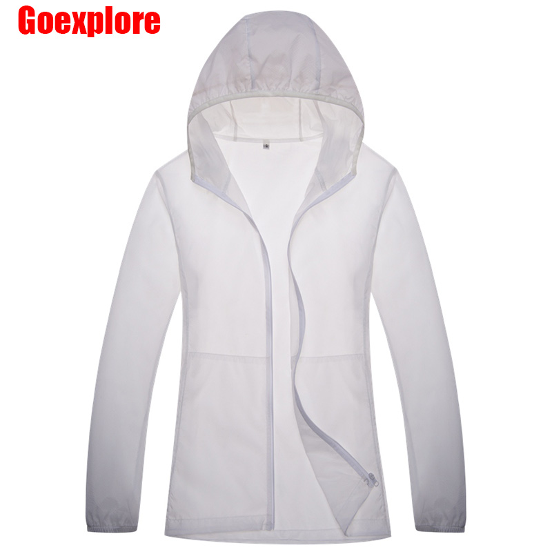 New Summer Men women Sun protection Outdoor Thin Jacket ...