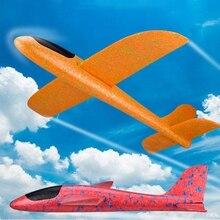 48 cm Große Hand Werfen Schaum Flugzeuge DIY Kinder Spielzeug Fliegen Segelflugzeug Flugzeug Modell Party Füllstoffe Fliegen Segelflugzeug Flugzeug Spielzeug für Kinder Spiel