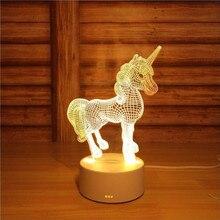 3D светодиодный Настольный светильник Медуза Сова ночной Светильник ABS+ Смола мульти-дизайн лампа для детей спальня подарок Любовь Медведь светильник