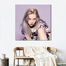 Billie Eilish Sexy Wallpaper Wall Art Canvas Poster And Print Painting Oil Decorative Picture For Bedroom Home Decor HD