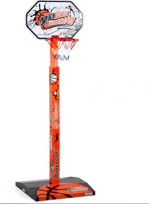 juegos infantiles de madera puede levantar hacia arriba y abajo de mini parque juguete de baloncesto