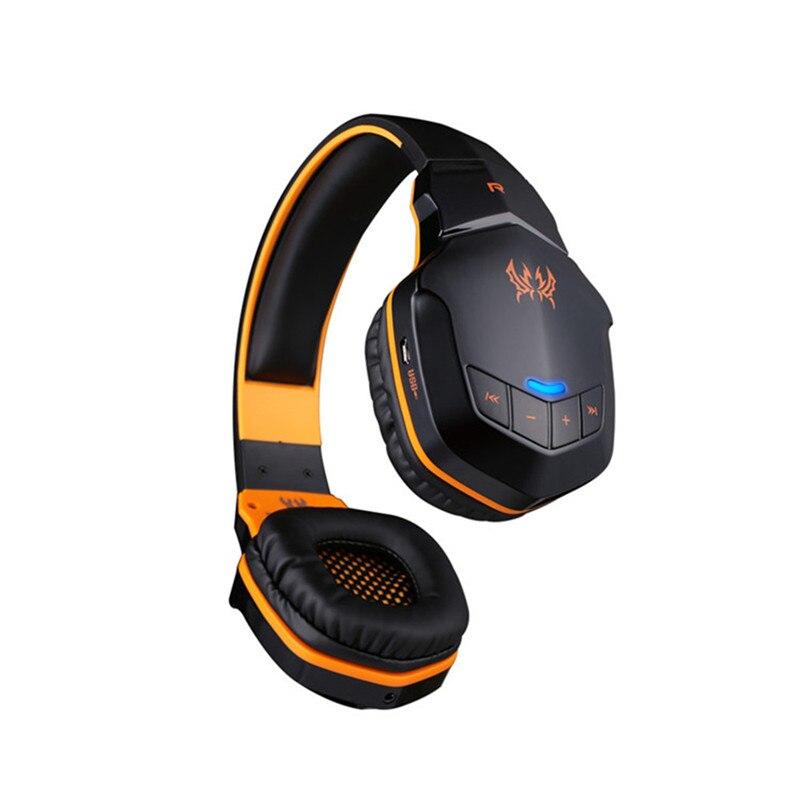 ФОТО EACH B3505 Wireless Bluetooth Stereo Gaming Headphones Earphone with Volume Control Microphone HiFi Build-in NFC Function