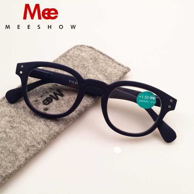 2019 Brand Reading Glasses with case Retro Europe style Men women glasses with flex +1.0-4.00 French concept reading glasses