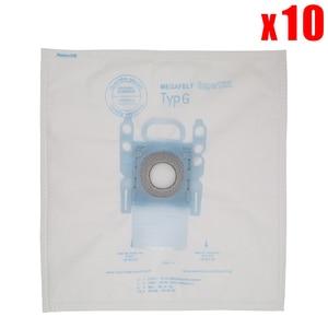 Image 1 - 10 Gói Hút Túi Bụi Thay Thế Cho Bosch Microfiber Loại G Gxxl Gxl Megaair Supertex BBZ41FGXXL Hút Một Phần