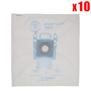 Image 1 - 10 pack vacuum cleaner dust bag replacement for Bosch Microfibre Type G GXXL GXL MegaAir SuperTex BBZ41FGXXL vacuum cleaner part