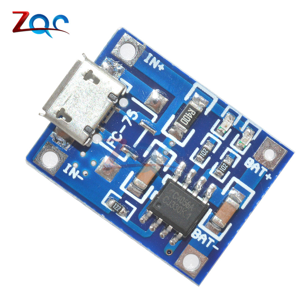5PCS TP4056 5V 1A Mini Micro Interface USB Lithium Battery Charging Board DIY Charger Module 5v 1a lithium battery charging board charger module li ion led charging board