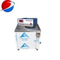 100 litros SUS304 material 2000 W industrial dpf filtro de partículas diésel limpiador ultrasónico 40 khz 28 khz con CE FCC