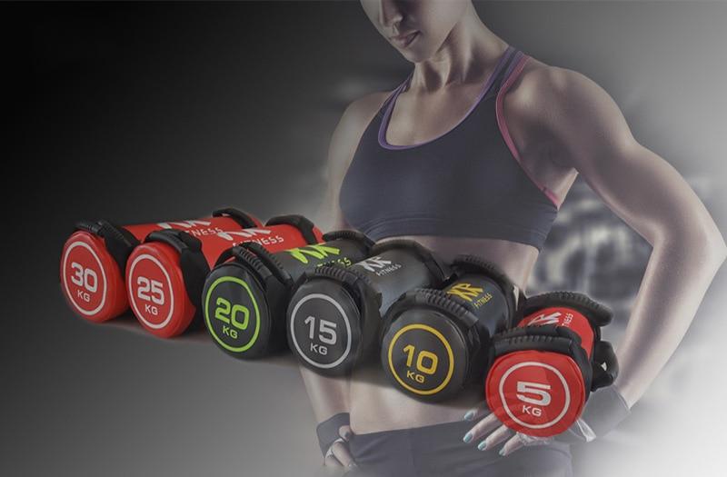 empty New Design Training Mma Boxing Bag Muay Thai Sanda Sandbag Pu Leather Bulgarian Bag Gym Weight Strength Workout Power Bag Orologi E Gioielli