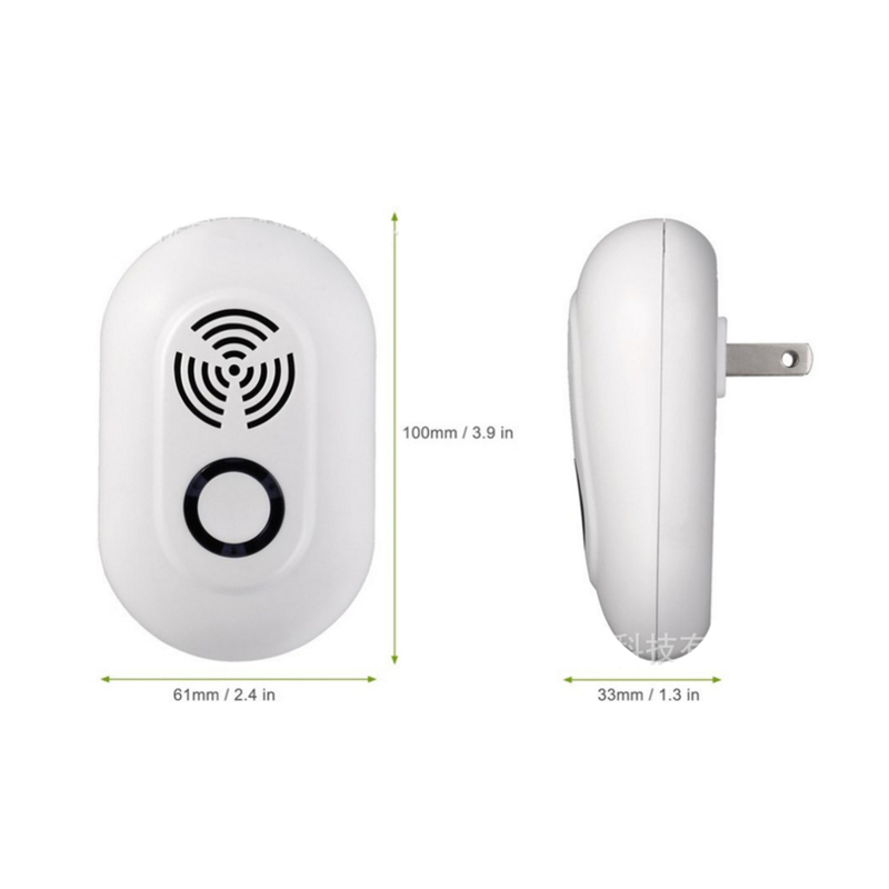 New 3w Electronic Ultrasonic Insect Killer Multi-function Home Mouse Pest Reject Mouse Insect Rat Scavengers