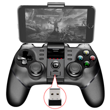 Wireless Bluetooth+USB Wired+2.4G Wireless Gamepad Gaming Controller Game pad Joystick for PS3 Android IOS Phone Pad PC Smart TV
