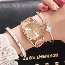 2019 GEDI Fashion Rose Gold Women Watches Top Luxury Brand Ladies Quartz Watch 3 Pieces Girl's Watch Relogio Feminino Hodinky 2018 new hot gedi fashion ceramic women watches top luxury brand ladies quartz watch 2 pieces watches relogio feminino hodinky